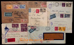 191967 - 1940-1945 sestava 7ks dopisů adresovaných do Itálie, Švýcars