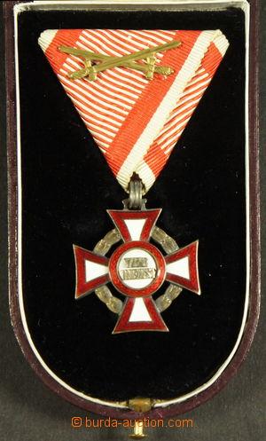 192009 - 1849 Vojenský záslužný kříž, III. třída s válečnou dekorací