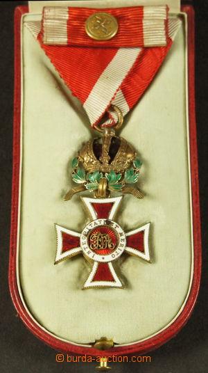 192020 - 1860 Leopoldův řád 1808, rytířský kříž s válečnou dekorací,