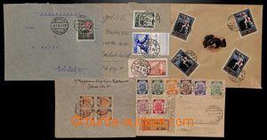 192126 - 1920-1939 sestava 5 dopisů z Liepajy (v roce 1915 obsazeno N
