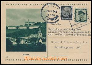 192138 - 1938 obrazová dopisnice TGM 50h Fulnek, CDV59/113, dofr. zn.