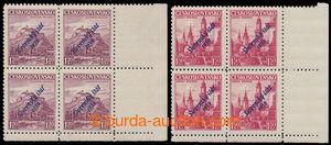 192421 - 1939 Sy.13, Mukačevo 1,20Kč + Sy.14, B. Bystrica 1,50Kč, dva