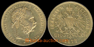 192922 - 1877 RAKOUSKO - UHERSKO / FRANTIŠEK JOSEF II.  Osmizlatník