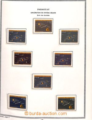 192943 - od 1962 [SBÍRKY]  KOSMOS  rozsáhlá specializovaná sbírka LET