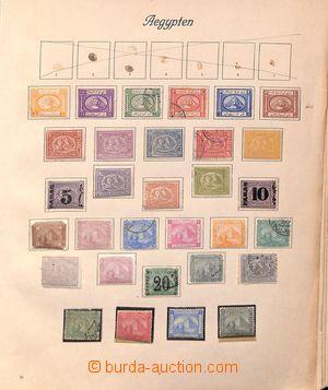 192948 - 1870-1920 [SBÍRKY]  ZÁMOŘÍ  zajímavá sestava starých známek
