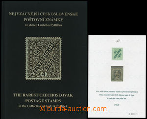 192979 -  Nejvzácnější československé poštovní známky ve sbírce Ludví