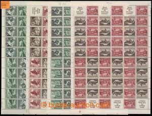193202 - 1938-1939 Mi.MHB63-64, 65-66, sestava 4 kompletních sešitkov