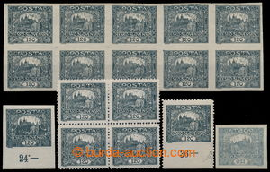 193212 -  Pof.21, 120h grey, selection: block-of-10, exp. Vrba + 1 pc