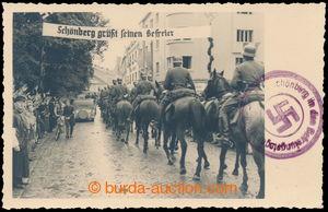 193286 - 1938 ŠUMPERK - fotopohled z obsazení Šumperku německou armád