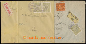 193546 - 1918 ISSUE 1916  comp. 2 pcs of entires franked with. Austri