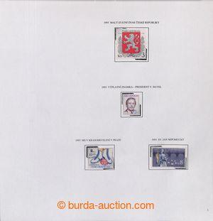 193552 - 1993-2010 [SBÍRKY]  GENERÁLNÍ  velmi pěkná sbírka na listech