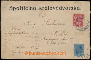 193569 - 1918 VÝPLATNÍ / MALÝ FORMÁT  cenné psaní na částku 2