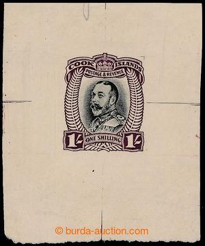 193826 - 1932 ZT pro SG.105 Jiří V. 1Sh černá / červenofialová, otisk