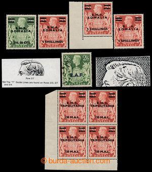 193831 - 1948 SG.S9, S19, S20(2x),S31, 5 koncových hodnot série Jiří
