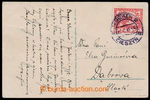 194009 / 1258 - Filatelie / ČSR I. / SO 1920