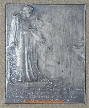 194142 -  Sucharda Stanislav, Vltava a Praha - jednostranná plaketa (