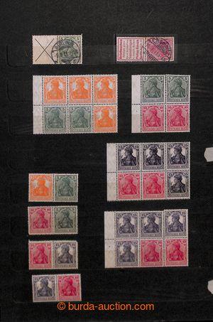 194275 - 1911-1942 [SBÍRKY]  sbírka ve starém zásobníku s cca 200-250