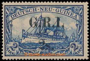 194335 - 1914 BRITSKÁ OKUPACE, SG.28 přetisk G.R.I./ 2s na německé ko