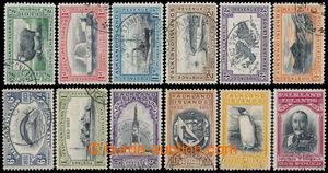 194377 - 1933 SG.127-138, 100. výročí britské správy ½P - £