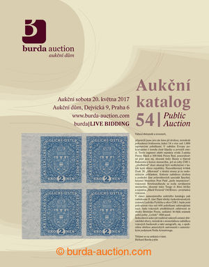 Public Auction 54 - aukční katalog