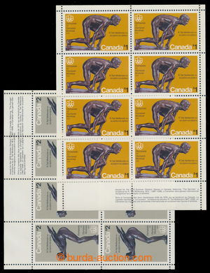 194747 - 1975 Sc.656-657, LOH 1976 Montreal, kompletní sestava 2ks TL