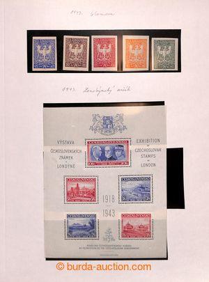 195103 - 1900-1992 [COLLECTIONS]  ZBYTKOVÁ PARTIE /  závěrečná part e