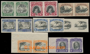 195555 - 1932 PLATE PROOF for SG.99-105, complete set of imperforated