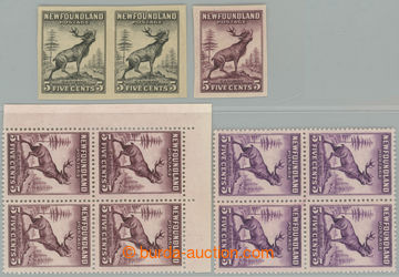 195579 - 1932 SG.213, pair of PLATE PROOF in black color, definitive