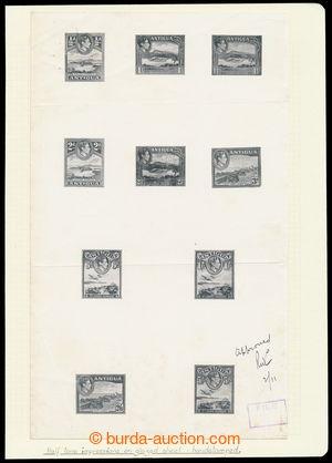 195608 - 1938 ZT  pro SG.98-107, Jiří VI. Krajinky 1/2P-5Sh, CELÁ SÉR