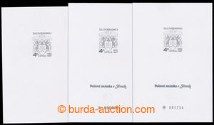 195647 - 1997 special commemorative print 22-23, 3 special prints ÚST