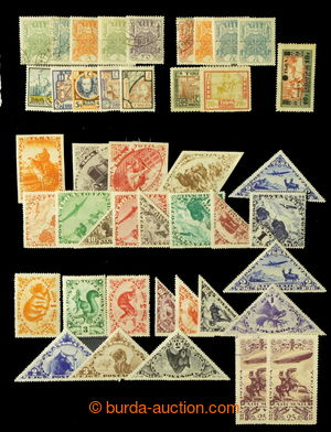 195895 - 1926-1936 [COLLECTIONS]  set of stamps from Mi.1, i.a. compl