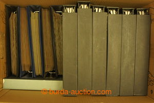 196610 -  STOCKBOOKS FOR ENTIRES  comp. 10 pcs of stockbooks, from th