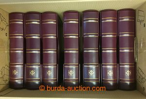 196809 -  [COLLECTIONS]  comp. of 7 superb spiral stockbooks Leuchttu