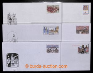 196984 - 1996-2001 CSO2-7, comp. 6 pcs of off. envelopes from y. 1996