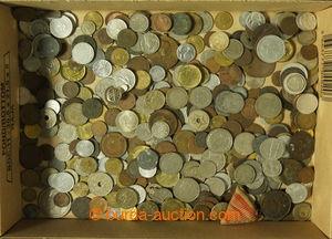 197071 - 1850-2000 [SBÍRKY]  RŮZNORODÁ  partie cca 300ks mincí, o