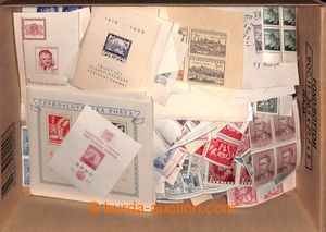 197079 - 1918-1992 [COLLECTIONS]  ACCUMULATION  scattered clear stamp