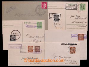 197129 - 1938-1942 POSTAL-AGENCIES  selection of 20 pcs of entires wi