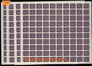 197166 - 1943 ARCHOVINA / Pof.102, Den poštovní známky 60h fialová, s