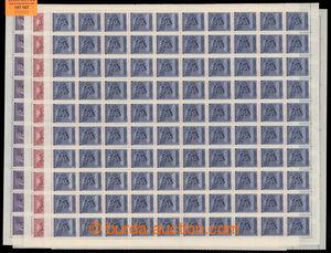 197167 - 1943 ARCHOVINA / Pof.102, 103-105, 112, sestava archů komple