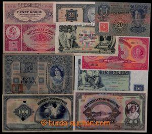 197250 - 1918-1934 Ba.17c, 21b2, 22e, 23c24b, 25b, 26, 27, comp. 10 p