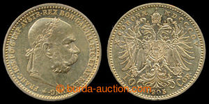 197419 - 1905 FRANZ JOSEPH I., 10Kr 1905, Au 0.900, 3.387g; quality 1