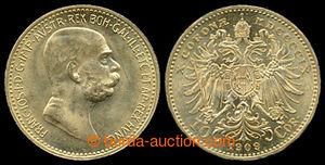 197420 - 1909 FRANZ JOSEPH I., 10Kr 1909, Au 0.900, 3.387g; quality 1