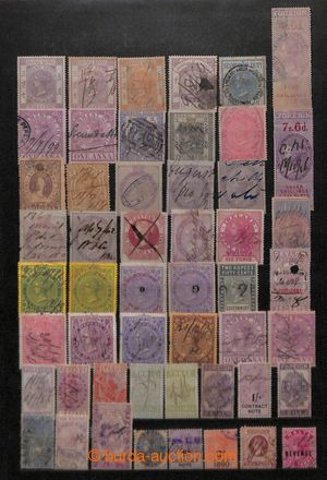 197518 - 1870- [COLLECTIONS]  OFFICIALS / POSTAL FISCAL STAMPS / REVE