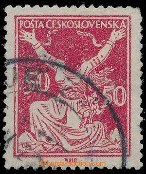 197580 -  Pof.155A TV2, 50h červená, razítkovaná zn. s oblíbenou tisk