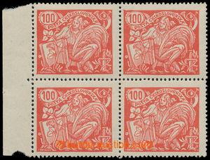 197587 -  Pof.173B ST, 100h červená s perforací HZ 13¾ : 13&#189