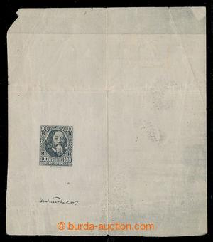 197624 - 1919 MUDRUŇKA Alois  nepřijatý návrh na známku 100h J. A. Ko