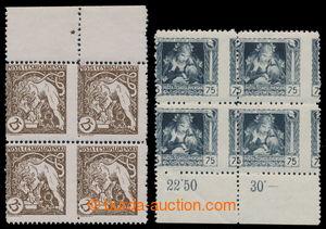 197671 -  Pof.28C, 30C VV, sestava 2ks 4-bloků s posunem svislé perfo