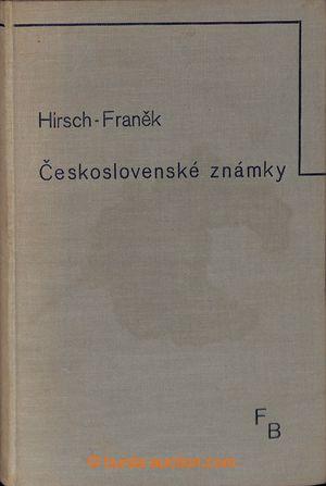 197682 - 1935 ČESKOSLOVENSKÉ ZNÁMKY, Hirsch-Franěk, dnes již klasická