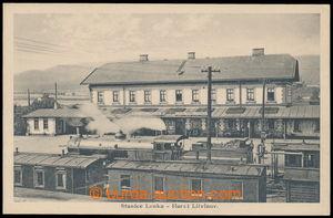 197790 - 1930 HORNÍ LITVÍNOV - nádražní stanice LOUKA, okres Most, po