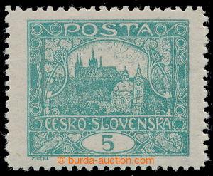 197885 -  Pof.4D, 5h modrozelená, ŘZ 11½, hezky centrovaná; vzad